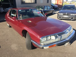 MA SM CARBU V6 MASERATI ROUGE DE GRENADE FULL OPTIONS 1971
