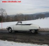 DS 21 CABRIOLET 1968 BLANC. En photos.