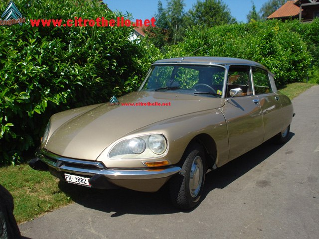 DS 23 INJECTION CONFORT 1973
