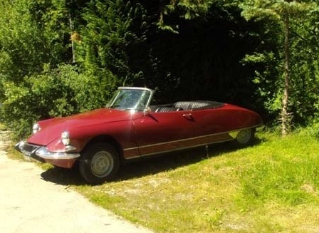 DS 21 CABRIOLET 1966 CONVERSION AU LHM