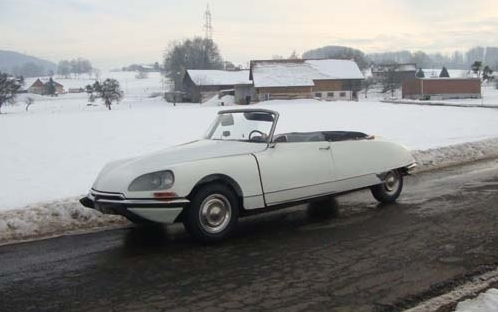 DS 21 CABRIOLET BVH 1968 BLANC