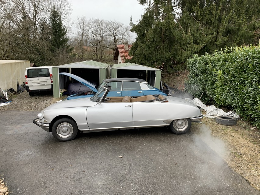 DS 21 CABRIOLET 1967 YAN